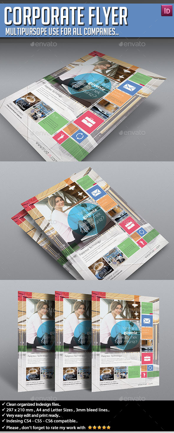 GraphicRiver Corporate Flyer Multipurpose V01 9864121