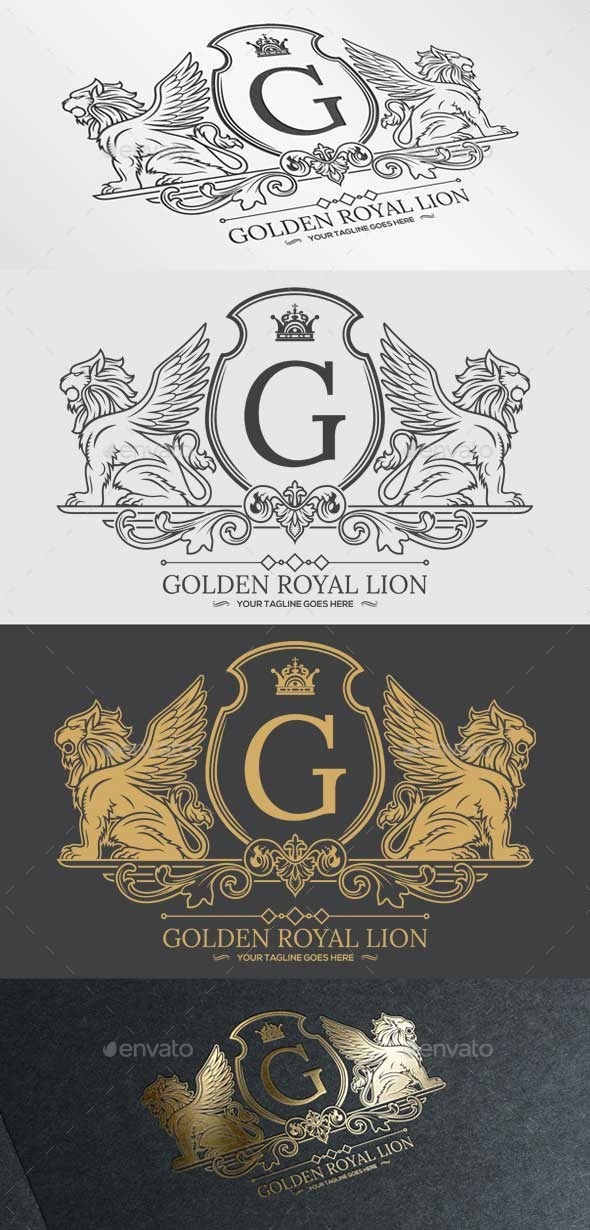 GraphicRiver Golden Royal Lion Vol.1 9864189