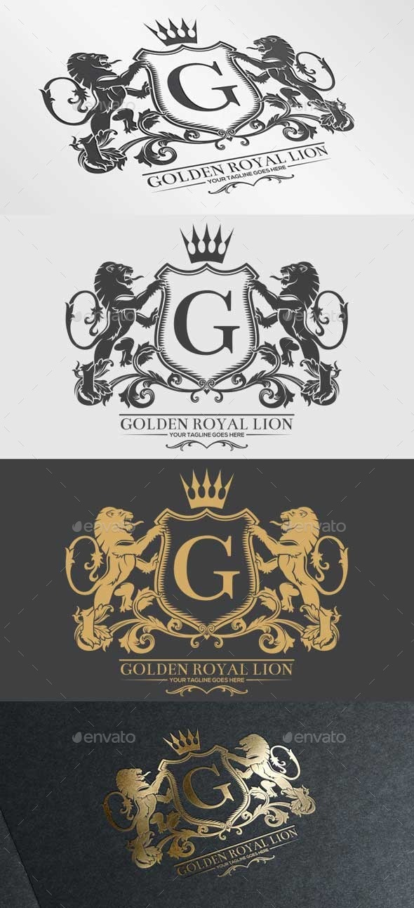 GraphicRiver Golden Royal Lion Vol.2 9864196