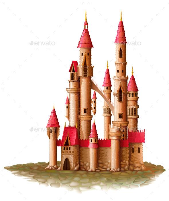 GraphicRiver Fantasy Castle 9864728