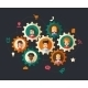 Illustration of Abstract Business People - GraphicRiver Item for Sale