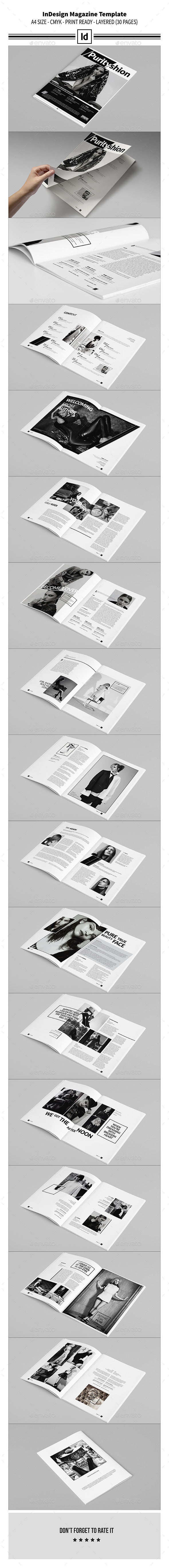 GraphicRiver InDesign Magazine Template 9864803