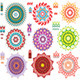 Round Ornament Pattern with Pattern Brash - GraphicRiver Item for Sale