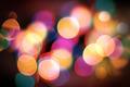 Christmas lights celebrate background  - PhotoDune Item for Sale