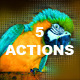 Pixel Photoshop Actions - GraphicRiver Item for Sale