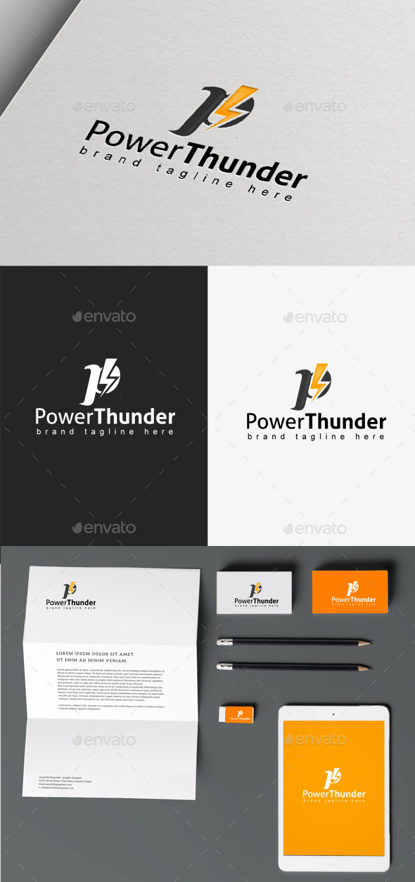 GraphicRiver Power Thunder 9865857