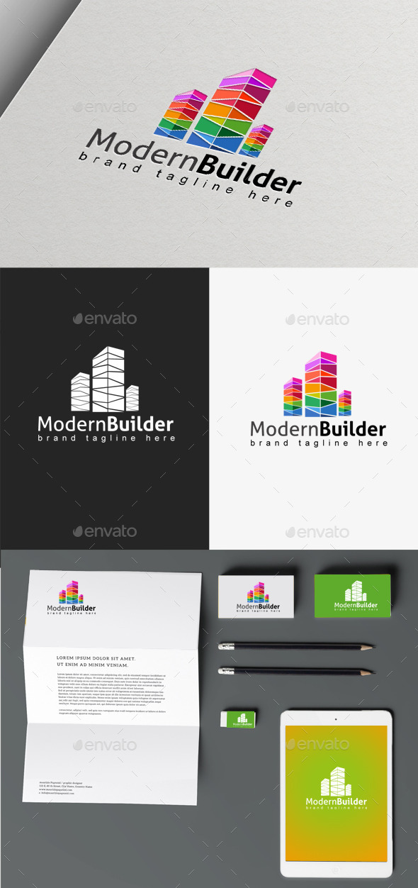 GraphicRiver Modern Builder 9865873