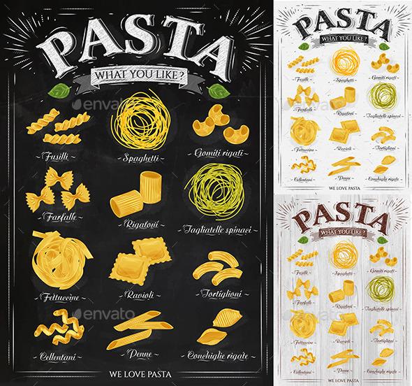 GraphicRiver Poster Pasta 9865899