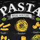 Poster Pasta  - GraphicRiver Item for Sale