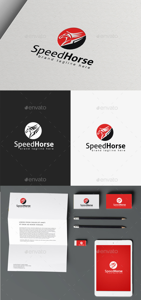 GraphicRiver Speed Horse 9865913
