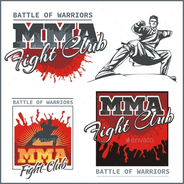 Mixed Martial Arts Designs