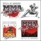 Mixed Martial Arts Designs - GraphicRiver Item for Sale