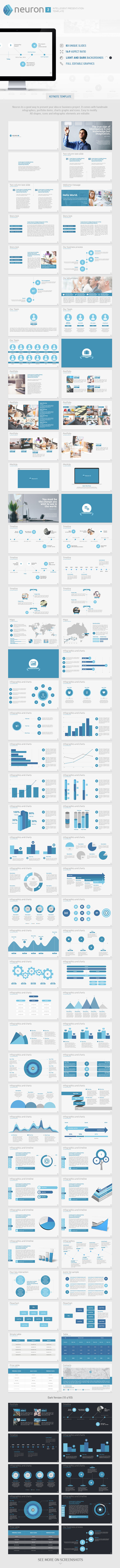 GraphicRiver Neuron Volume 2 Keynote Presentation Template 9819670