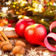 Christmas holiday decorations. Christmas card - PhotoDune Item for Sale