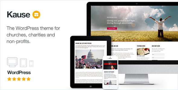 Kause - Multi Purpose WordPress Theme