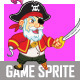 Old Pirate Game Sprite - GraphicRiver Item for Sale