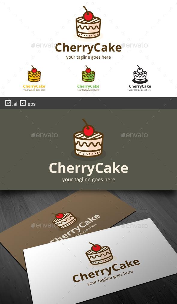 GraphicRiver Cherry Cake 9867810