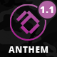 Anthem - Modern Creative Template - ThemeForest Item for Sale