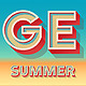 Summer Bold Alphabet - GraphicRiver Item for Sale