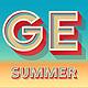 Summer Bold Alphabet - GraphicRiver Item for Sale