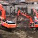 Three Excavators