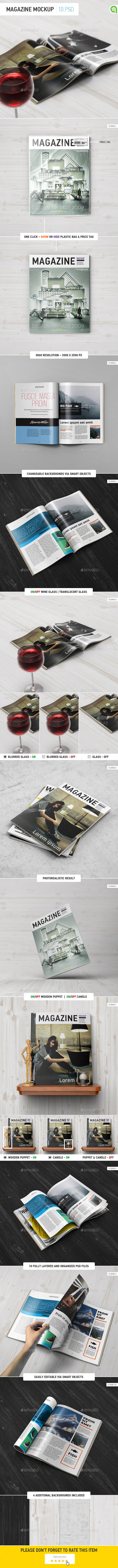 GraphicRiver Magazine Mockup 9868213