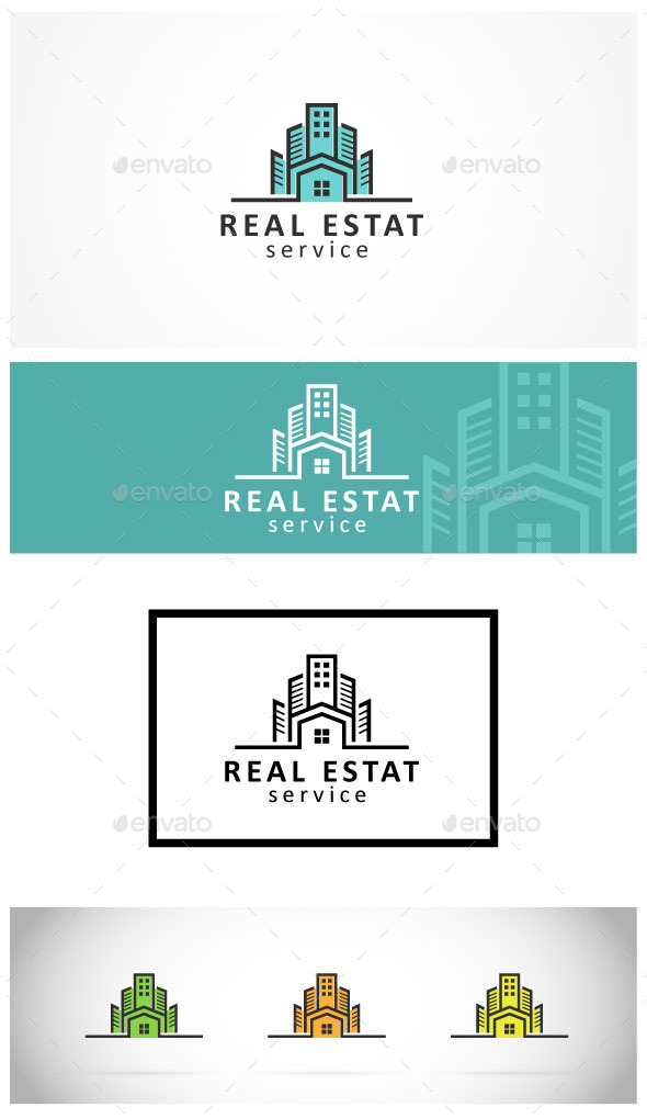 GraphicRiver Real Estate Logo 9868710