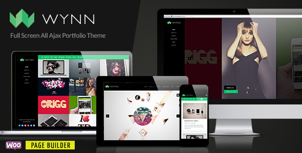 Wynn-Fullscreen Ajax Portfolio / Photography Theme - Portfolio Creative