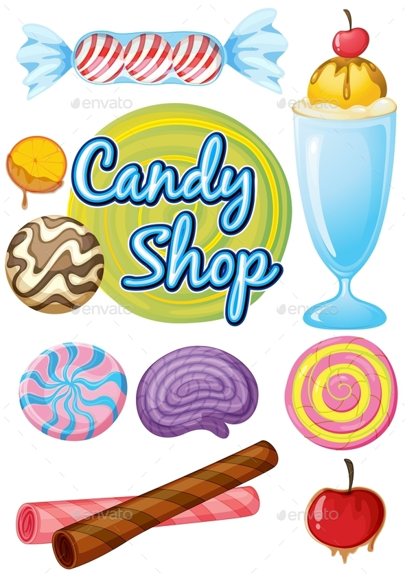GraphicRiver Candy Shop 9868744