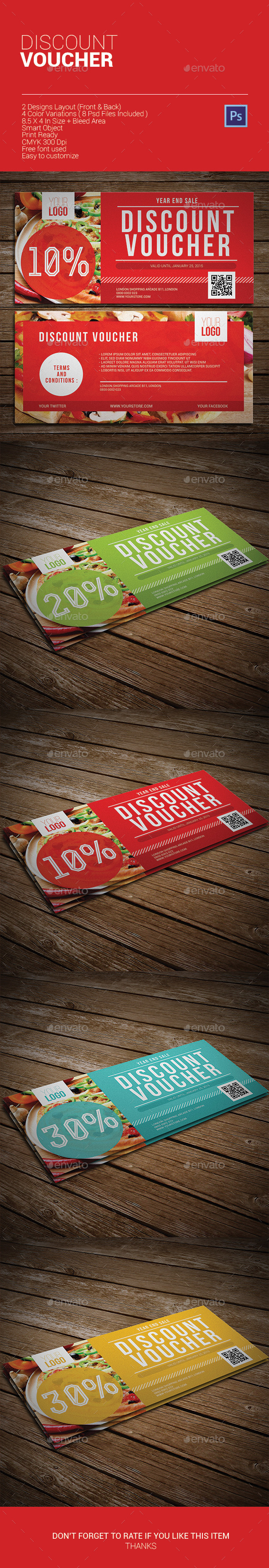 GraphicRiver Discount Voucher 9868752