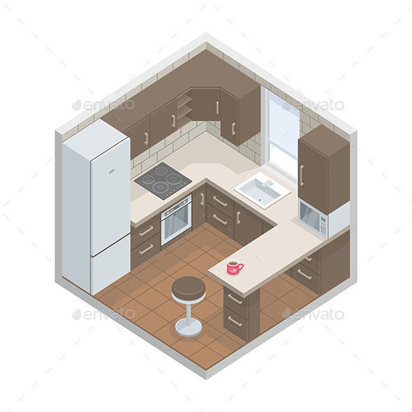 GraphicRiver Kitchen 9868895