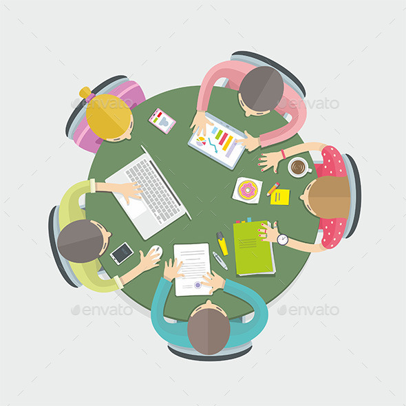 GraphicRiver Business Meeting 9868915