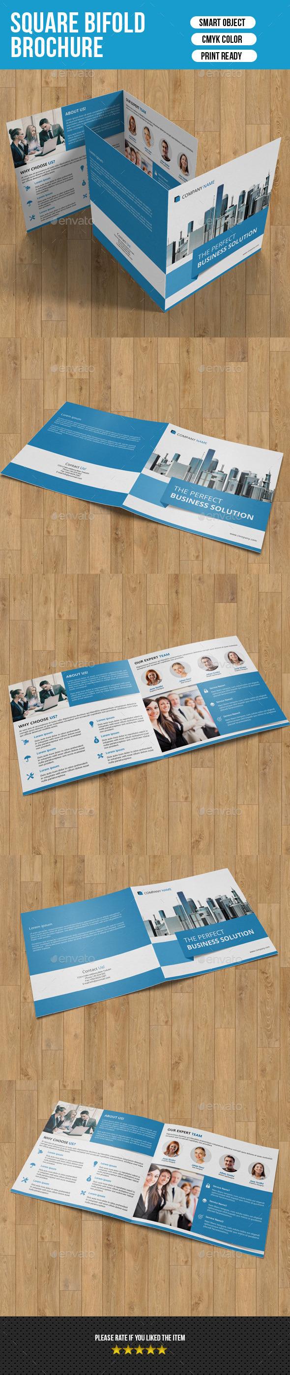 GraphicRiver Square Bifold Brochure-V07 9868952