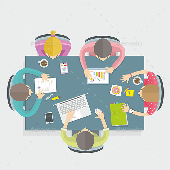 GraphicRiver Business Meeting 9869090