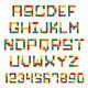 Construction Blocks Alphabet - GraphicRiver Item for Sale