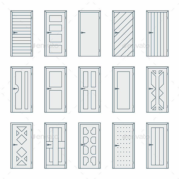 GraphicRiver Doors 9869255