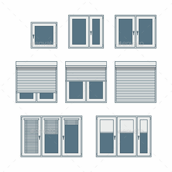 GraphicRiver Plastic Window 9869260