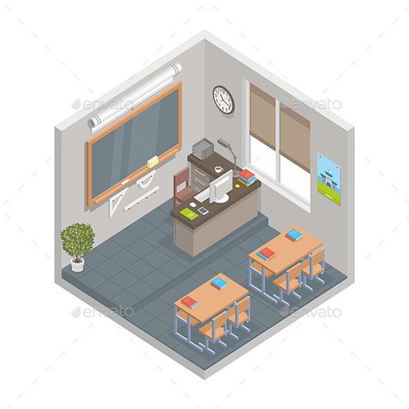 GraphicRiver Classroom 9869411