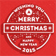 New Year and Merry Christmas Greeting Cards - GraphicRiver Item for Sale