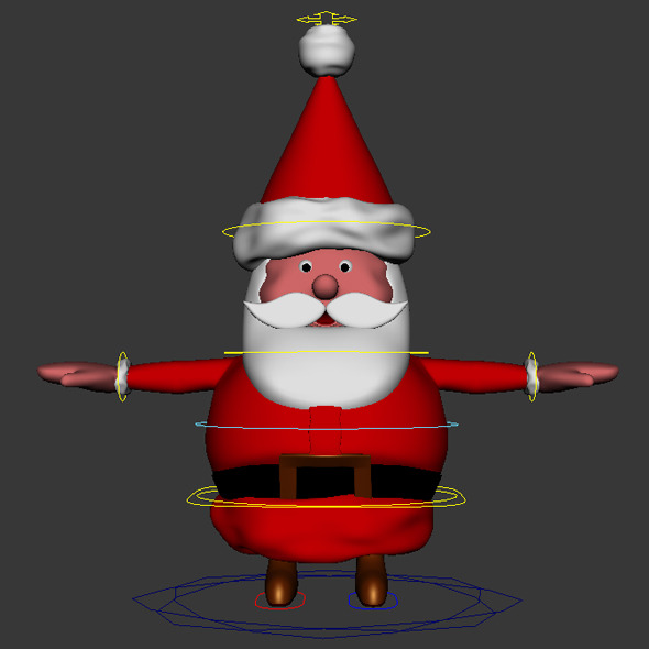 Santa - 3DOcean Item for Sale