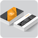 Avax_Creative Business Card - GraphicRiver Item for Sale