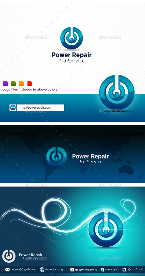 GraphicRiver Power Tech 9869640