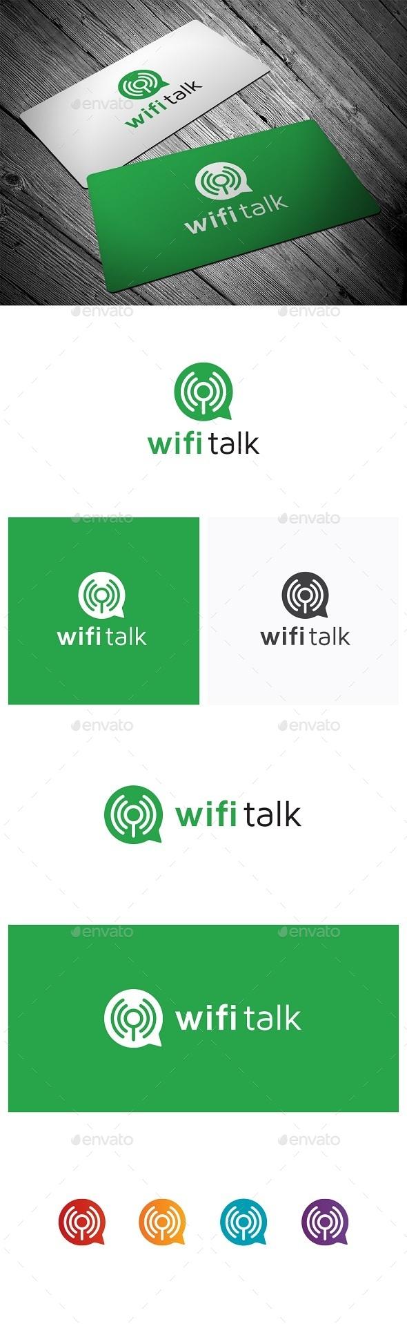 GraphicRiver Wifi Talk 9869732