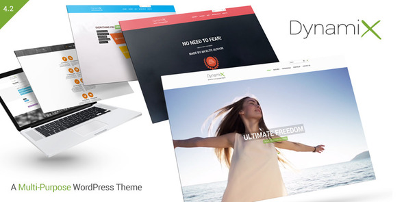 DynamiX Business Corporate Wordpress Theme
