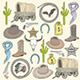 Cowboy Seamless Pattern  - GraphicRiver Item for Sale
