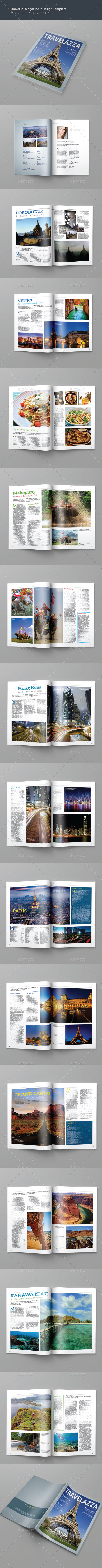 GraphicRiver Travelazza Magazine 9870031