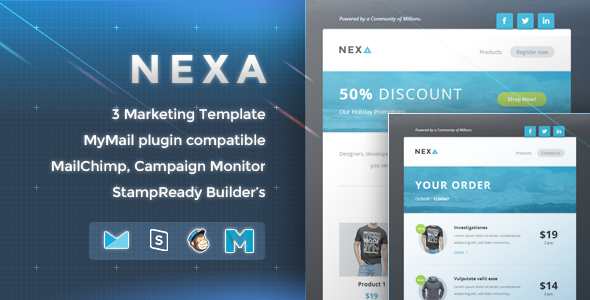 ThemeForest Nexa Marketing Newsletter 9870076