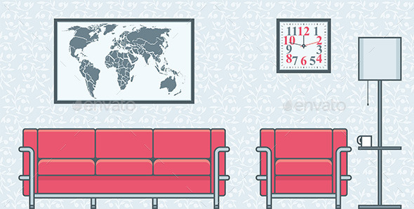 GraphicRiver Living Room 9870410