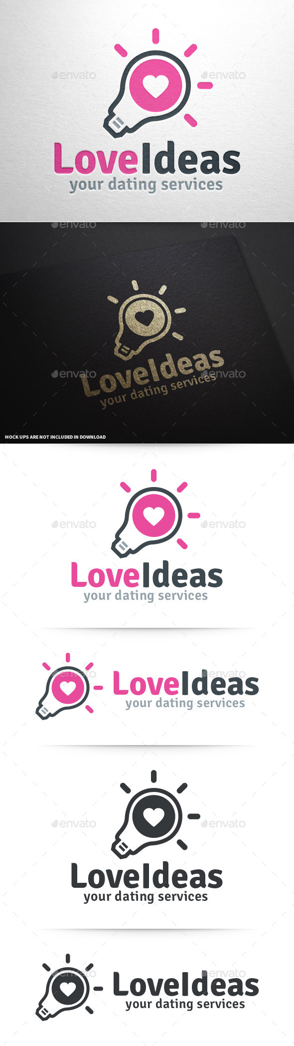 Love Ideas Logo Template
