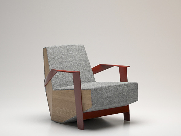 Moroso Silve lake armchair - 3DOcean Item for Sale